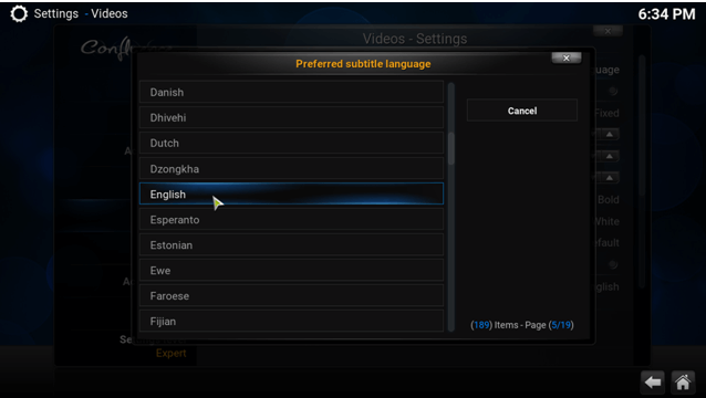how to add subtitles on kodi