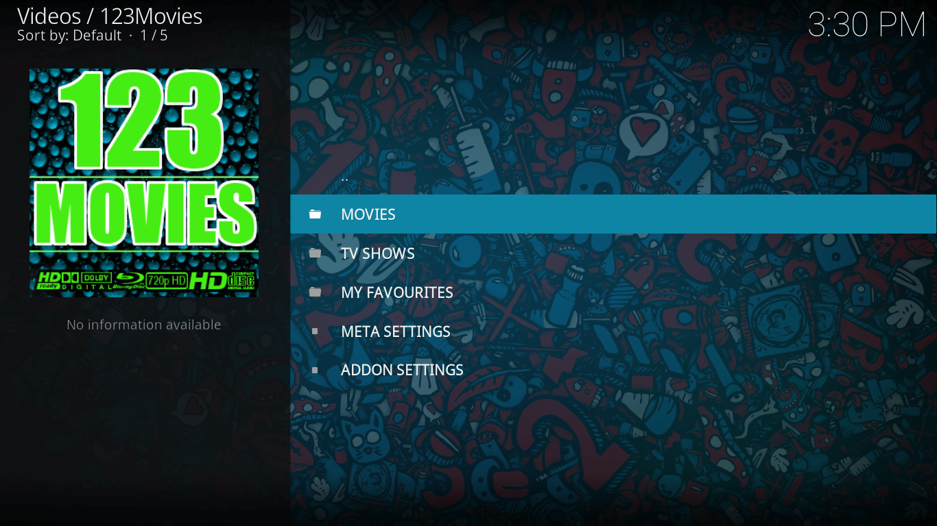 123movies addon on kodi krypton version 17 settings