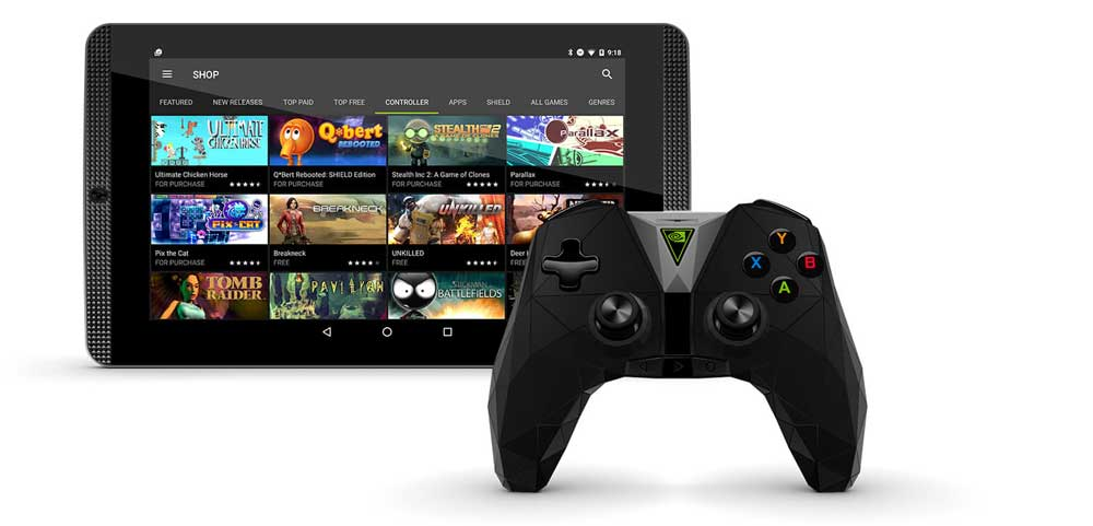 Nvidia shield kodi box