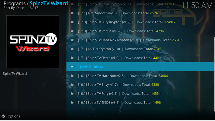 how to install spinz tv kodi jarvis version 16