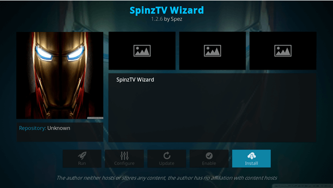 spinz tv wizard