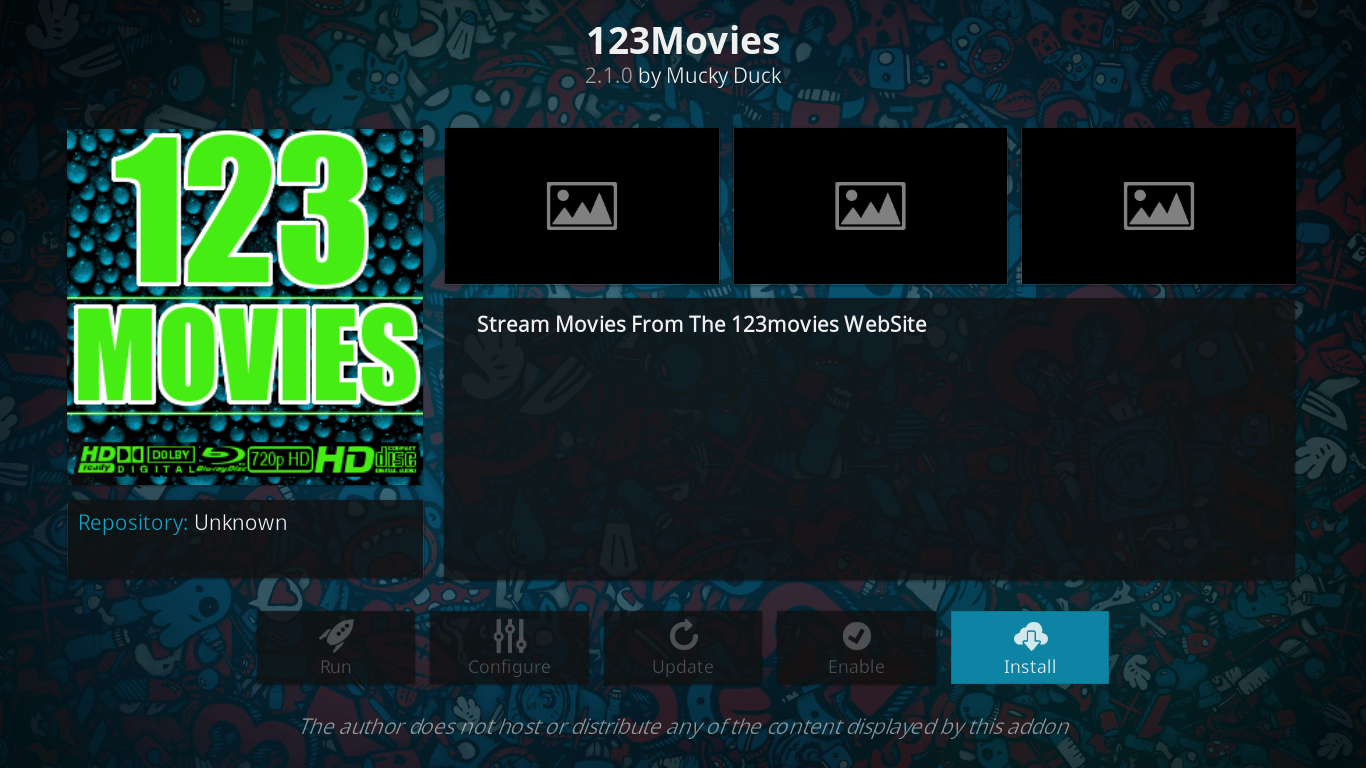 how to stream movies on 123movies addon