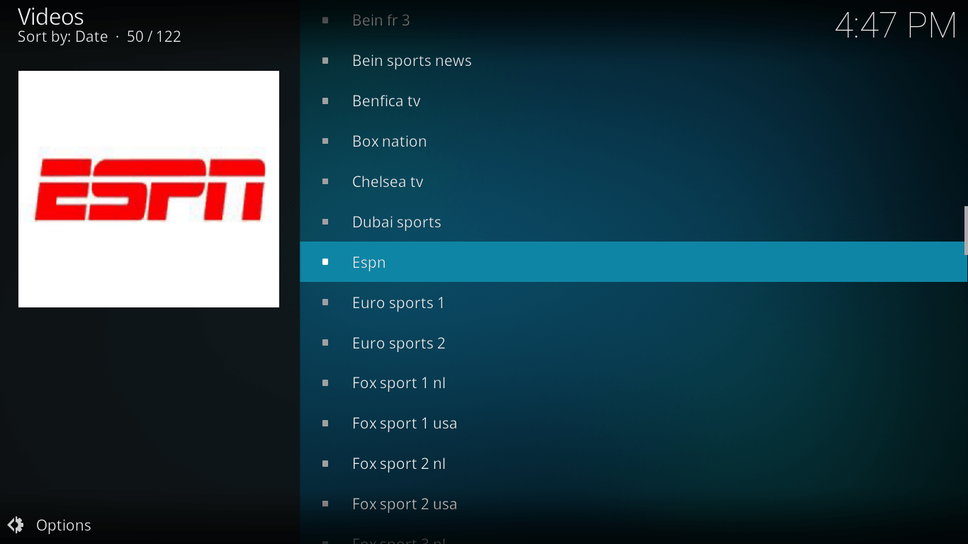 How to Add Zem TV ESPN Sports Channels on kodi