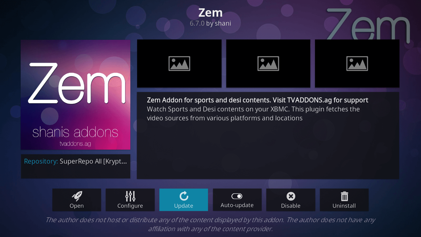 Zem TV Not Working