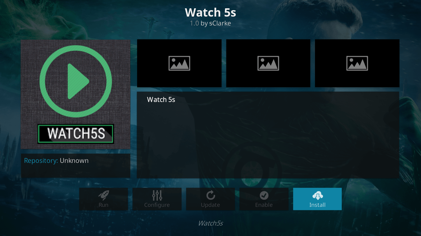 how to install watch5s on jarvis version 16