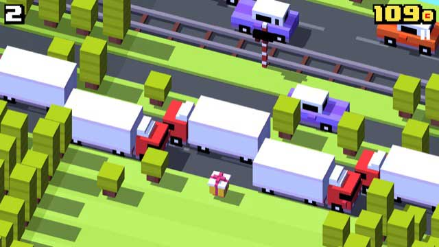 crossy road free apple tv game