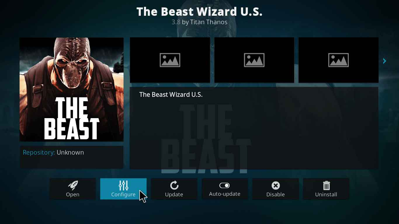 the beast kodi setup