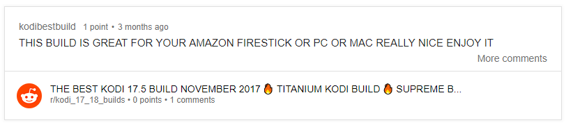 titanium build review