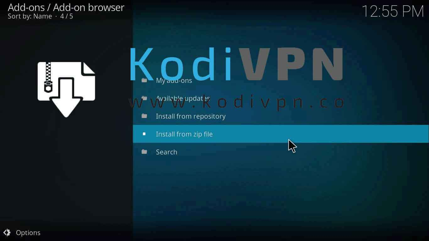 how to install brettus kodi on jarvis version 16 or higher