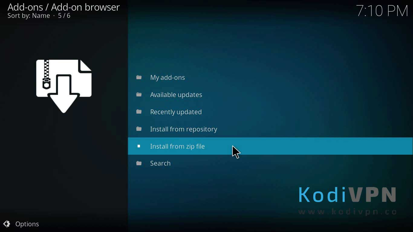 how to install f4mtester kodi addon on jarvis version 16 or higher