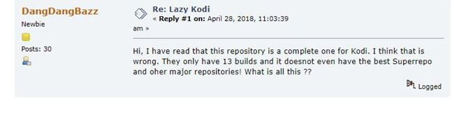 lazy repo review