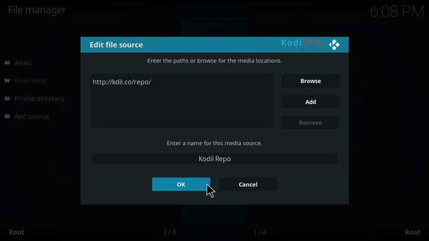 how to install redemption on kodi krypton version 17.6 or lower