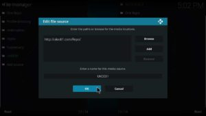 how to install just sports on kodi krypton version 17.6 or lower