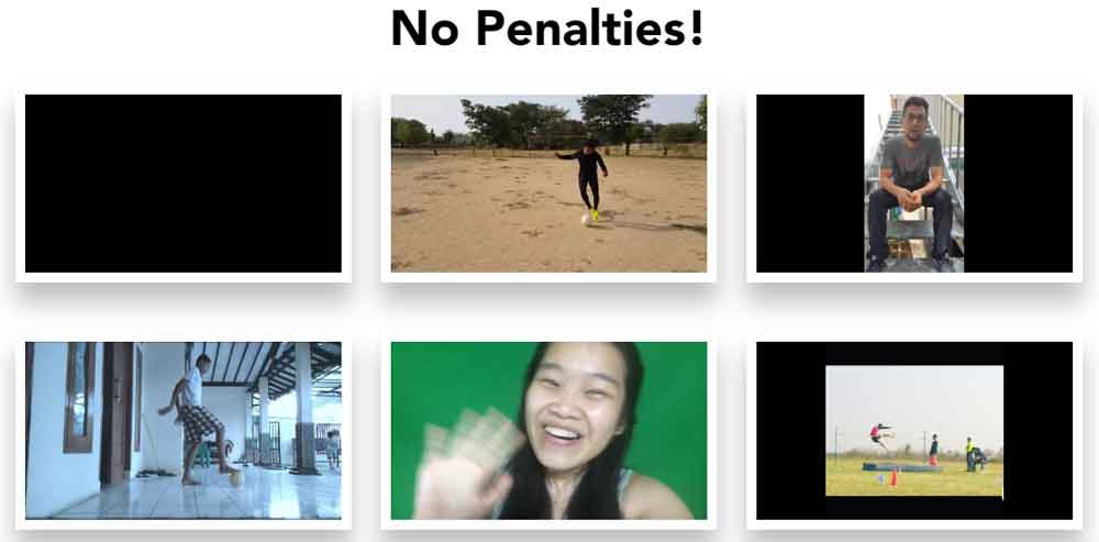 No penalties
