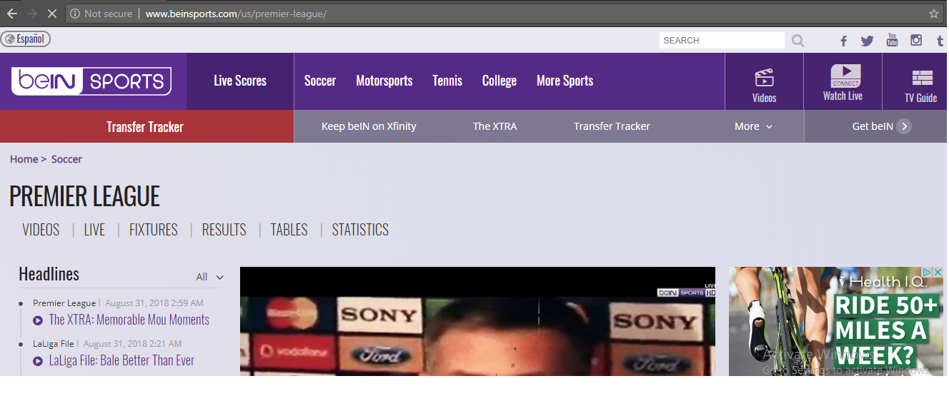 how to watch premier league on bein sports