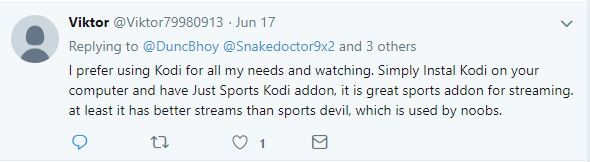 just sports reviews