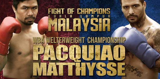 Where Can I watch Matthysse vs Pacquiao Online?