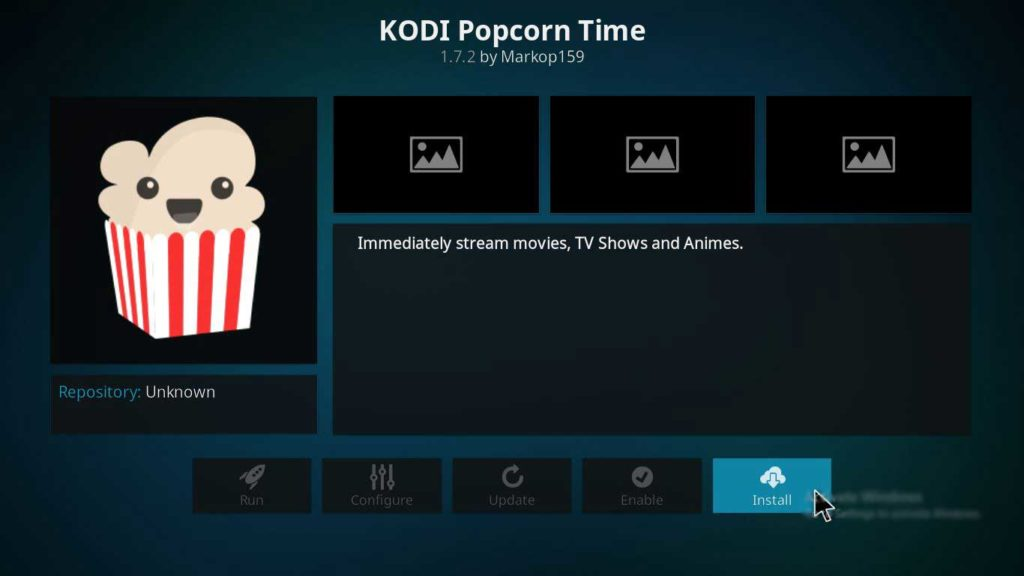 setup popcorntime on firestick