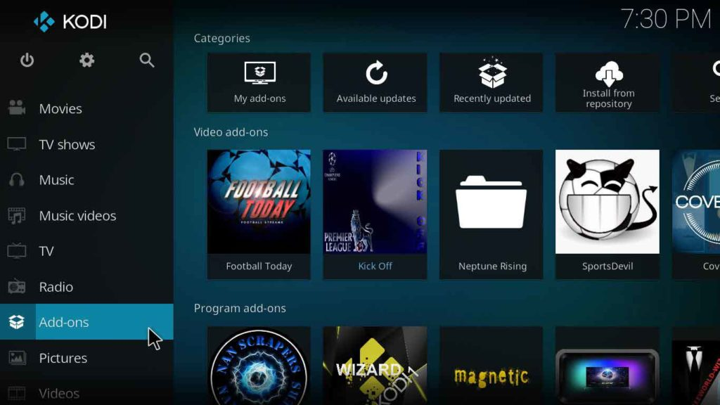 how to install no limits magic build on kodi jarvis version 16 or higher