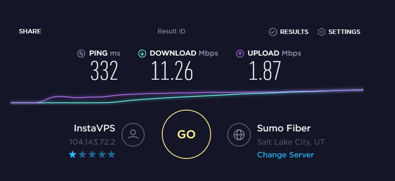 pureVPN streaming speed for netflix