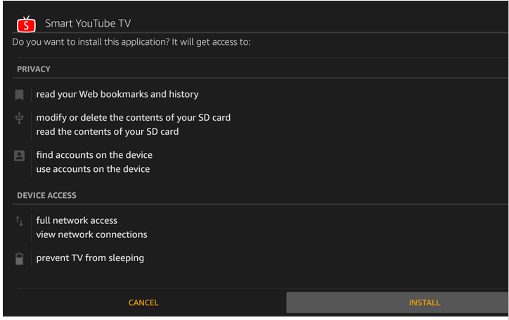 smart youtube tv on firestick