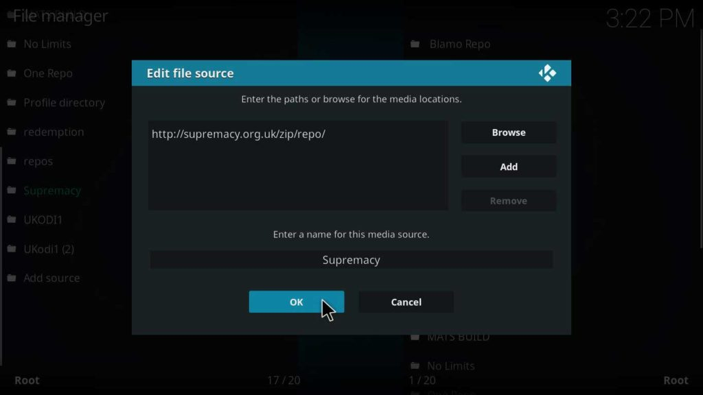 how to install supremacy kodi repository on jarvis