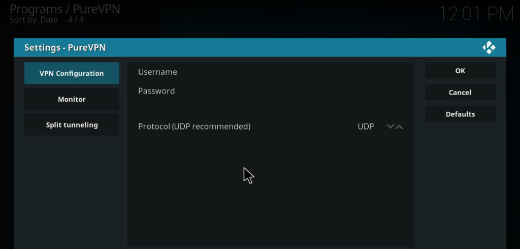 secure streaming with vpn for kodi