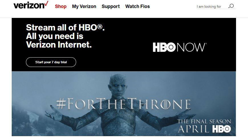 watch complete game of thrones on verizon