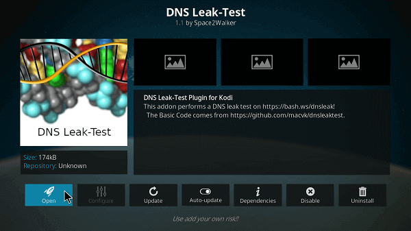 step-7-how-to-test-if-Cyberghost-vpn-is-working-on-kodi