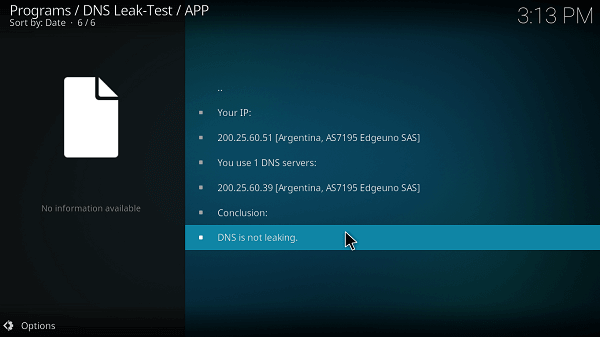 step-8-how-to-test-if-Cyberghost-vpn-is-working-on-kodi