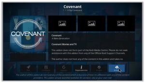 Covenant Installation Wizard
