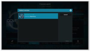 Covenant Repository Version 1.1.35