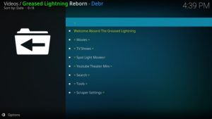 Greased Lightning Reborn Addon