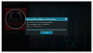 Maverick Real Debrid Authorization Code