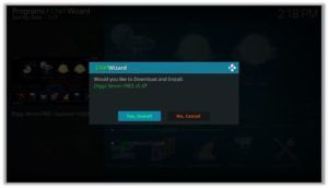 chef Wizard Confirm Download And Install