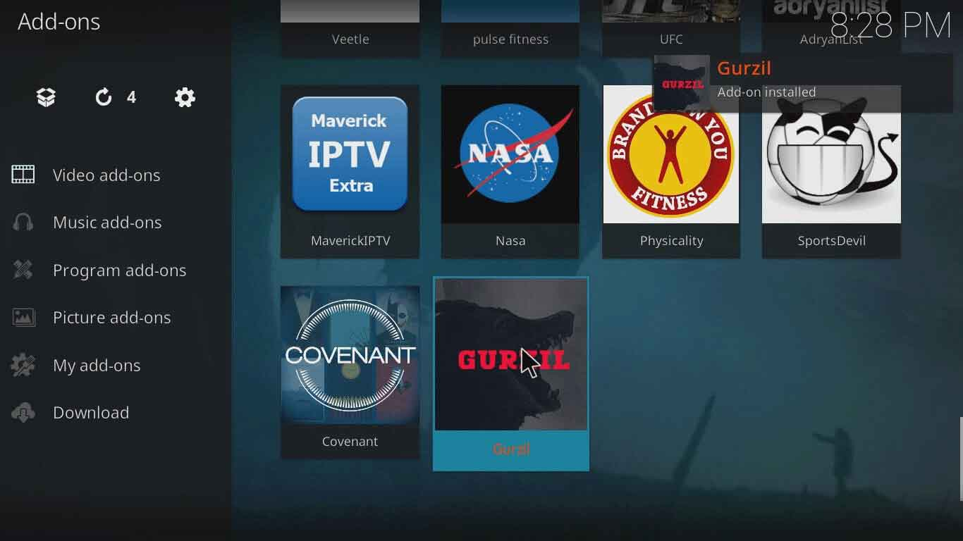 How to Install Gurzil on Kodi in Less Than 10 Minutes