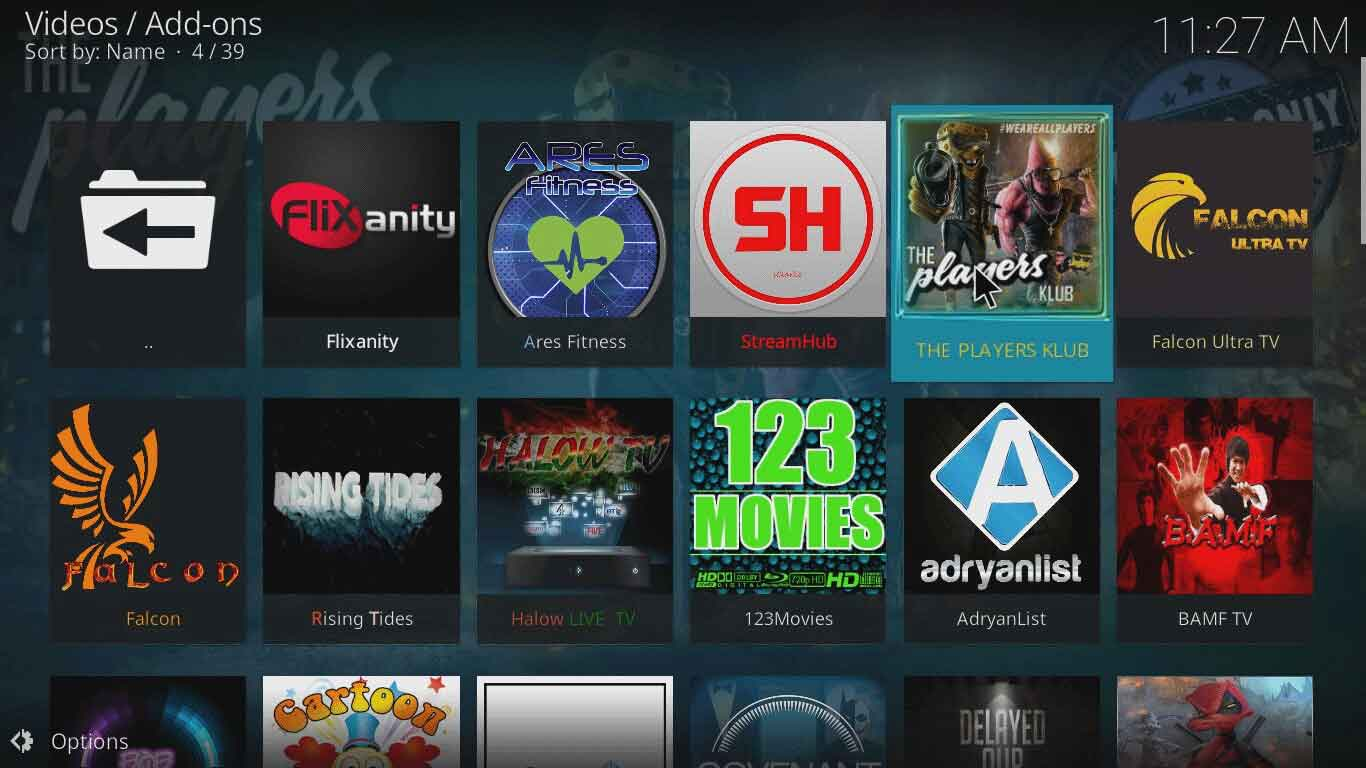 How to Install The Players Klub on Kodi in 2 Minutes