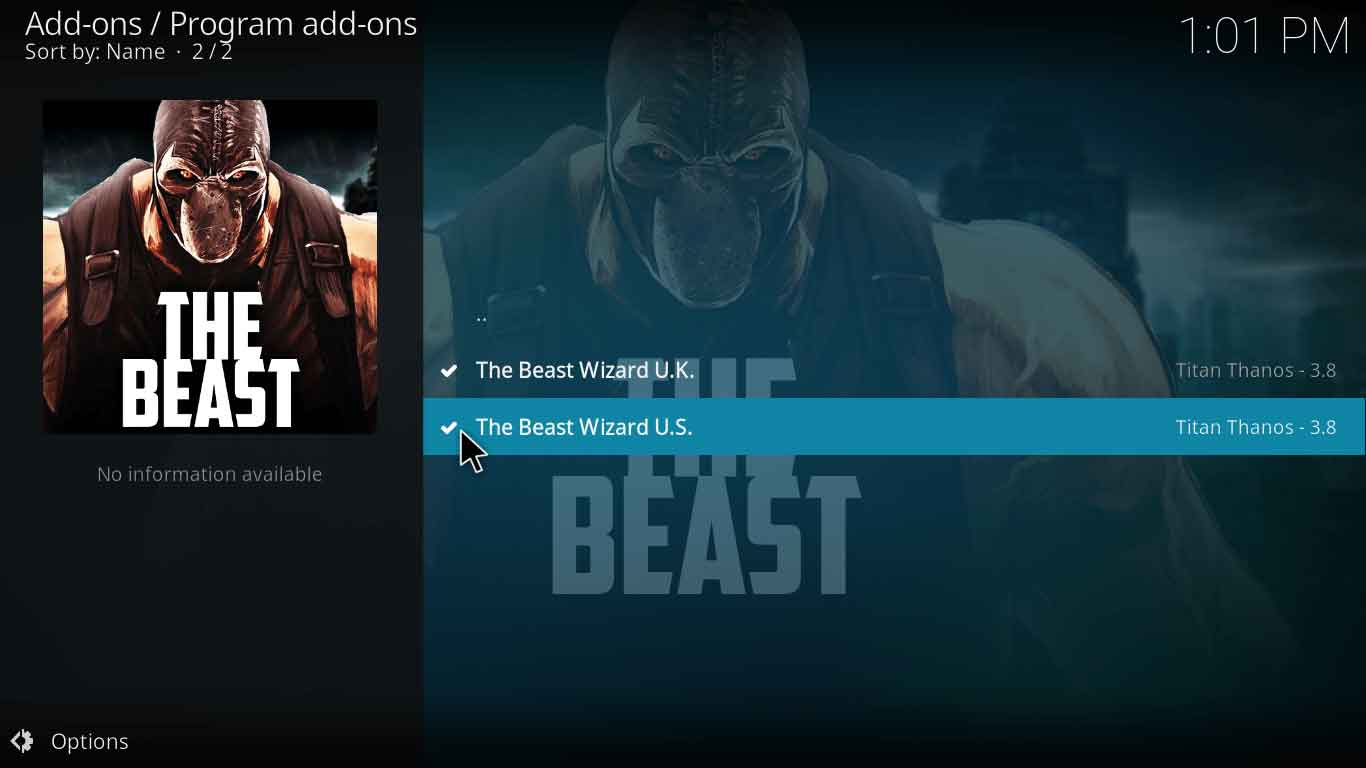 How to Install The Beast Kodi Build In Less Than 7 Minutes