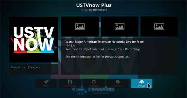 How to Install USTVNow Kodi Addon in 5 Simple Steps