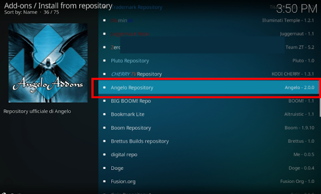 How to Install Angelo IPTV Kodi Addon on Kodi Krypton