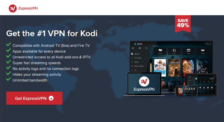 Best VPN for Kodi Will Save You From Copyright Infringement Notices